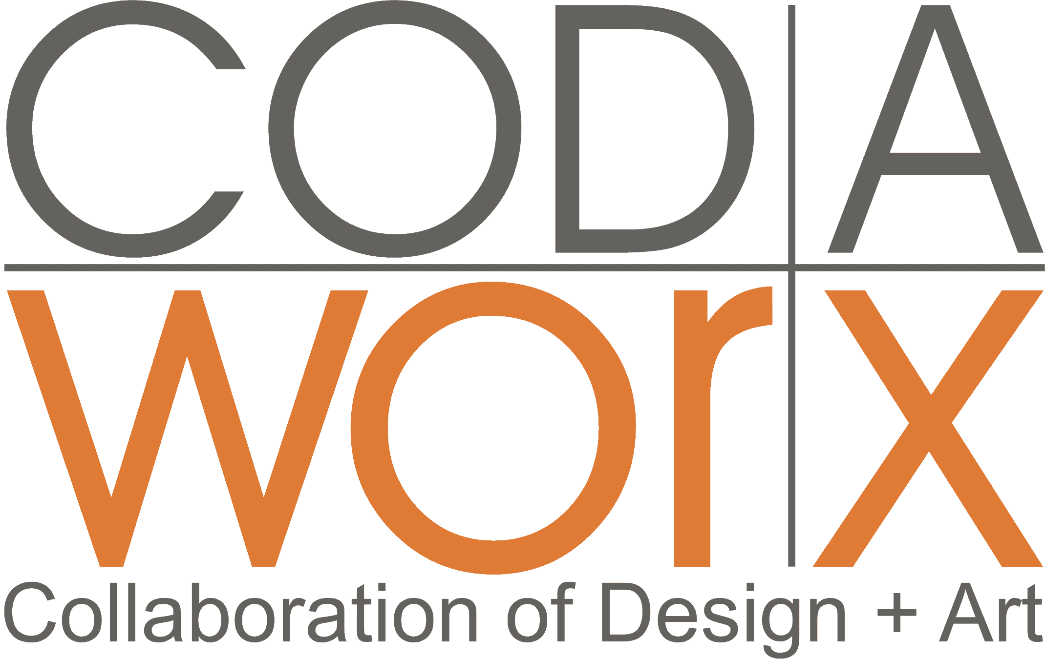 Logo CODAworx - Collaboration of design and art