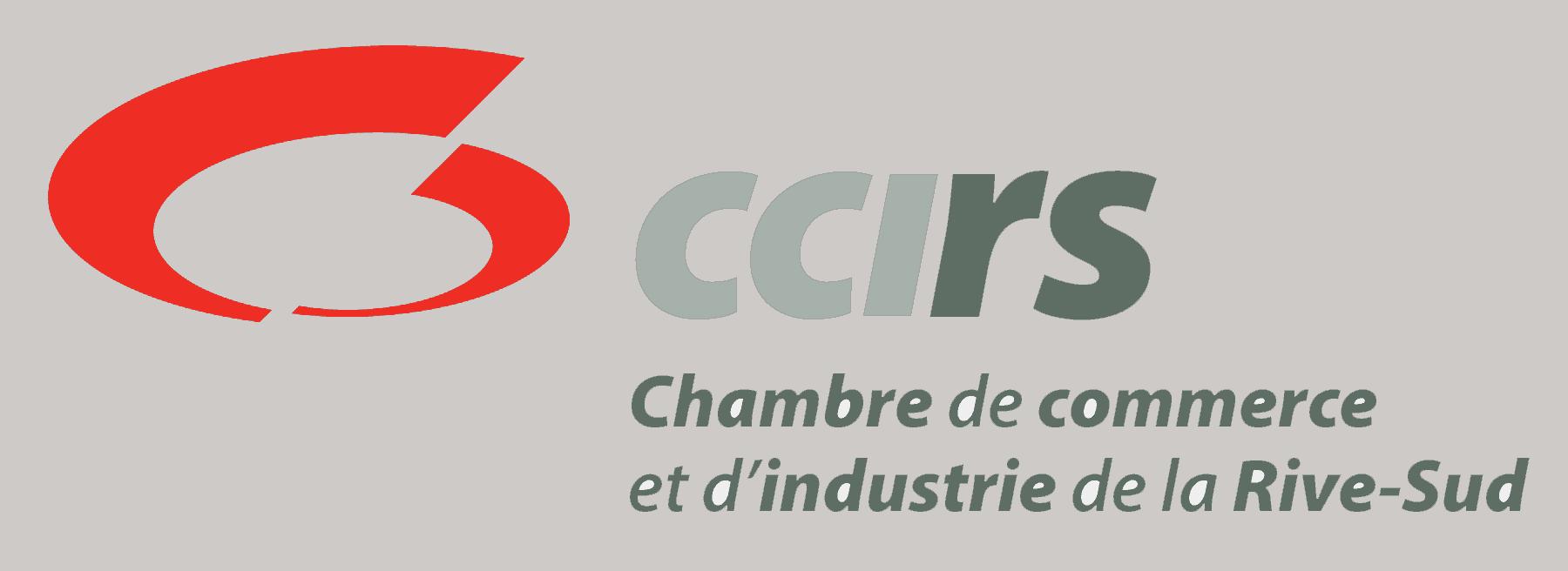 Logo - Chambre de commerce et de l'industrie de la Rive-Sud - CCIRS