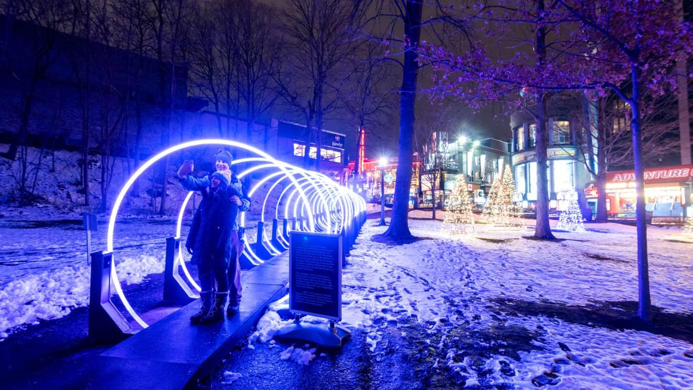 Untangled Digital at OPG Winter Festival of Lights